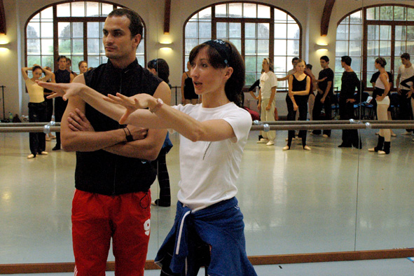 Daria and Otto Bubenicek Masterclasses 2004